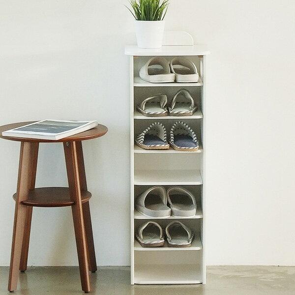 鞋櫃 /  鞋架 / 置物櫃 / 室內拖   韓系品味簡約7層鞋櫃(兩色) MIT台灣製 完美主義【I0182】 1