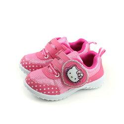 Hello Kitty 凱蒂貓 運動鞋 電燈鞋 桃紅 中童 童鞋 718745 no771