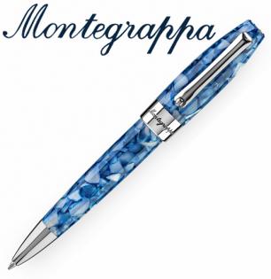義大利Montegrappa萬特佳財富馬賽克系列-原子筆(海洋藍)ISFOBBID支