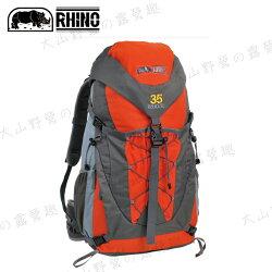 【露營趣】附防雨套 RHINO 犀牛 G135 TrekLite 35公升中型超輕透氣背包 登山背包 休閒背包 旅遊背包 健行背包 登山 旅遊 自助旅行