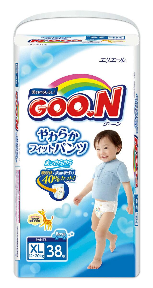 日本大王 褲型 男褲 紙尿褲 尿布 XL38 片/包 1箱3包