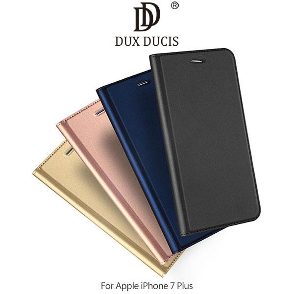 強尼拍賣~DUXDUCISAppleiPhone7Plus5.5吋SKINPro磁吸側翻可立皮套保護套