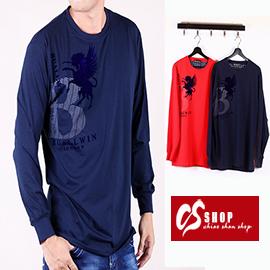 CS衣舖 質感萊卡 彈性布料 長袖T恤 8635
