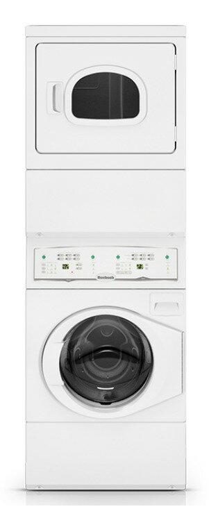 Huebsch 優必洗 YTEE5A 電力型 220V 堆疊式洗乾衣機 上烘乾下洗衣