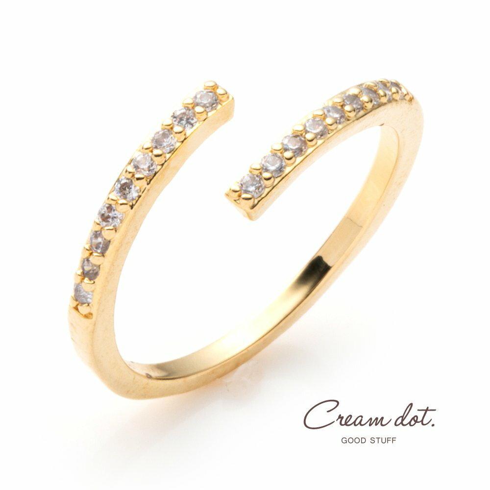 日本Cream Dot  /  簡約鋯石戒指  /  p00012  /  日本必買 日本樂天代購  /  件件含運 0