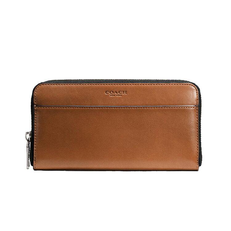 Coach F74899 女士時尚長款皮質手風琴拉鏈錢包錢夾皮夾