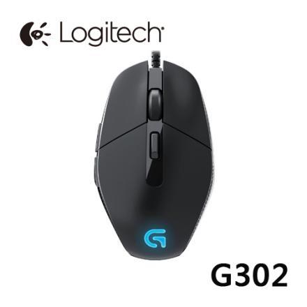 Logitech 羅技 G302 LED電競遊戲滑鼠 MOBA