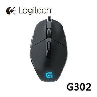 【最高可折$2600】Logitech 羅技 G302 LED電競遊戲滑鼠 MOBA