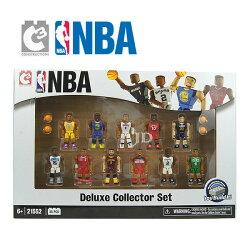 【C3 TOYS】超可動積木人偶 NBA系列 - 豪華珍藏版套組 (一盒11入) 21552