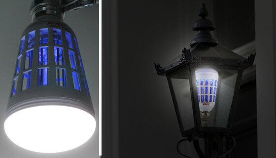2-in-1 Mosquito Killing LED Light Bulb 1