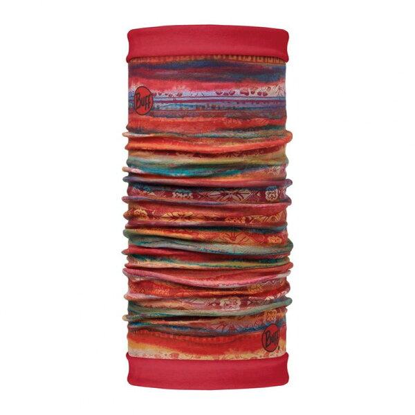 【【蘋果戶外】】BUFFBF113136西班牙魔術頭巾綺麗水彩雙面保暖頭巾Polartec保暖纖維脖圍