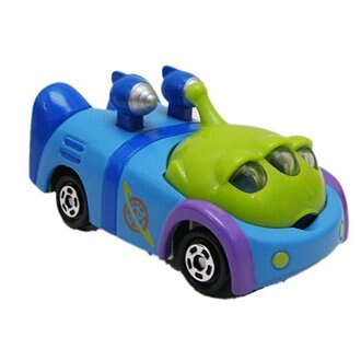 【真愛日本】14012300024 限定樂園小車-三眼怪 迪士尼限定版TOMY車 模型車 造型車