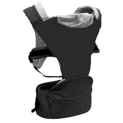 【Combi 康貝】HIPSEAT-ff 折疊式坐墊背巾-拓黑/碳灰