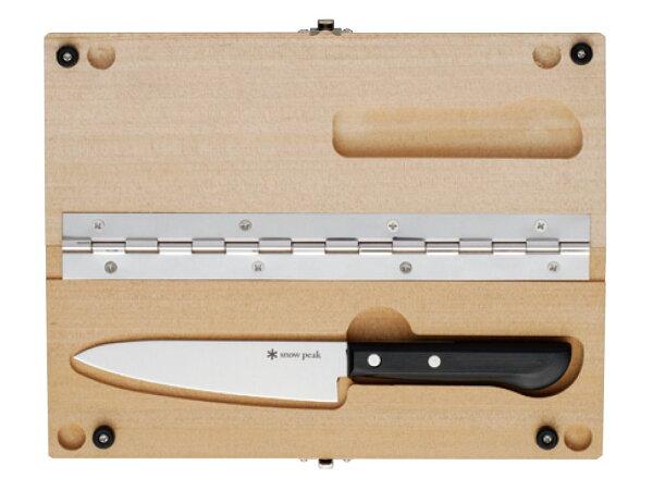 ├登山樂┤日本SnowPeak不鏽鋼戶外砧板刀組M#CS-207