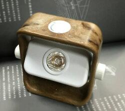 【【蘋果戶外】】Truvii 趣味 Moon Lantern 驅蚊營燈 木燈 USB營燈 台灣設計師作品 蜂蠟油 光罩 抗菌餐具