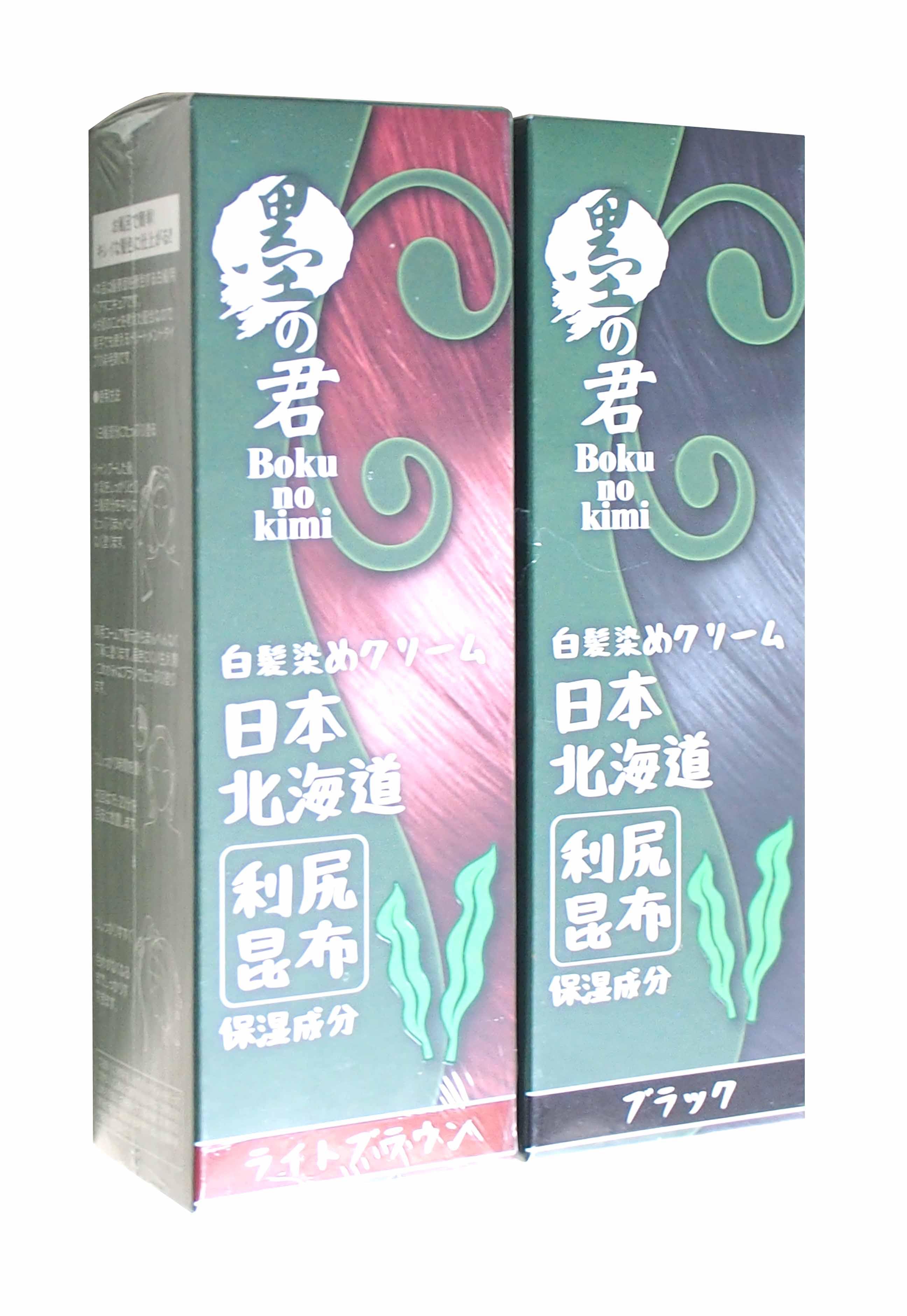 日本墨之君 利尻昆布快速天然白髮染(70g/瓶)【優.日常】