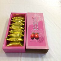 白色情人節禮物到【姚老爹】情人番茄牛軋酥餅 / 8入 一盒裝