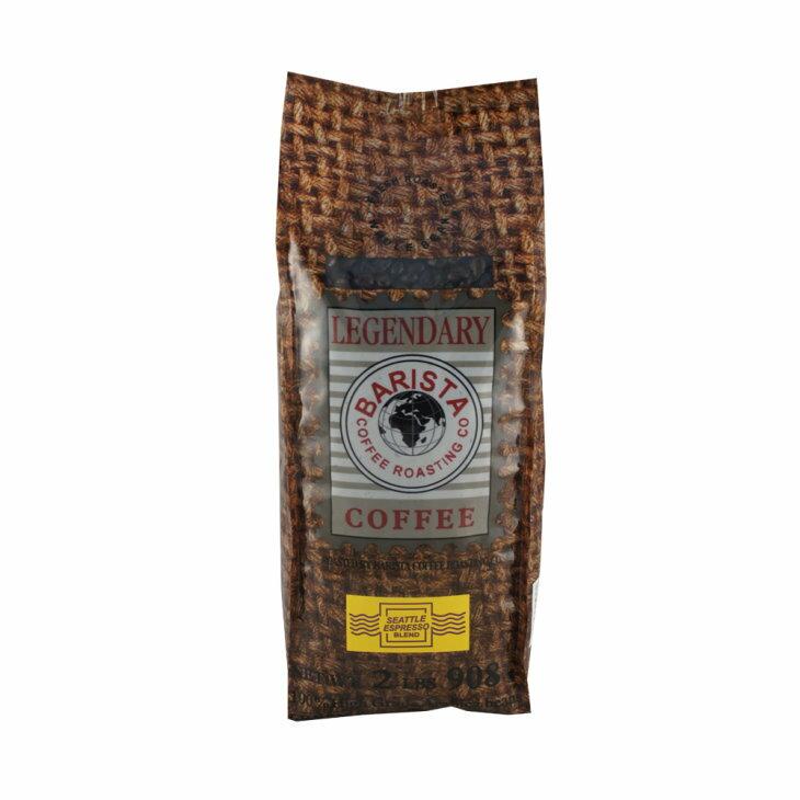 西雅圖-傳頌濃縮綜合咖啡豆(2磅)