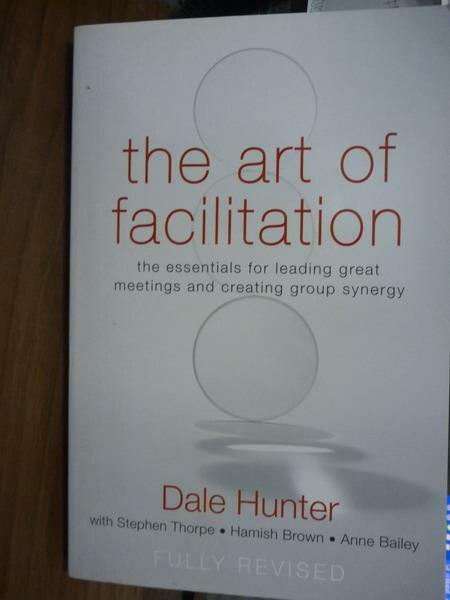 ~書寶 書T3/原文書_QFQ~The Art of Facilitation_Dale