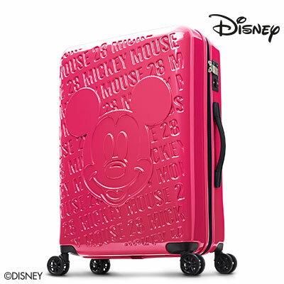 【加賀皮件】Deseno Disney 迪士尼 米奇 1928復刻浮雕 多色 PC鏡面拉鍊 28吋行李箱 旅行箱 CL8655