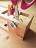 Chainloop x TAB 原木框框收納筆筒 辦公桌文具療癒小物 1
