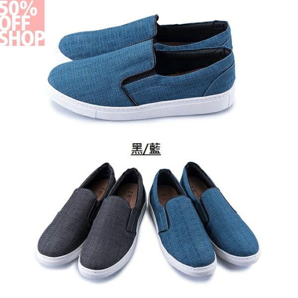 50%OFFSHOP日系細格紋懶人鞋【AFAV000254】