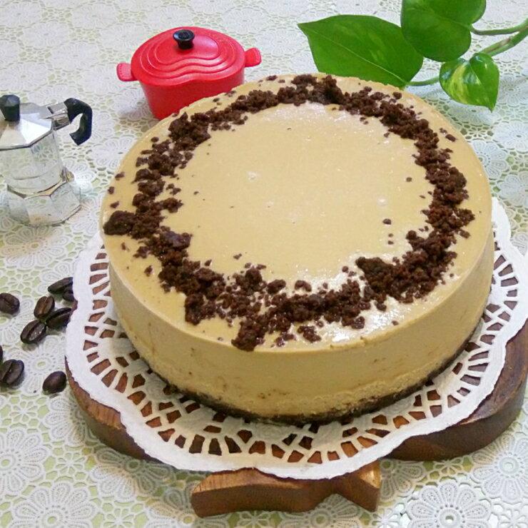 咖啡可可重乳酪︱乳酪蛋糕︱咖啡口味︱6吋︱8吋