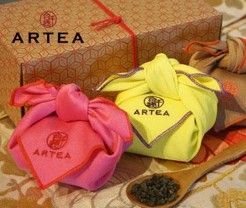 ARTEA精選3款好茶禮盒(彩巾系列50gX3組). 1