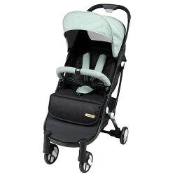 【麗嬰房】法國 Looping Squizz II單向秒收嬰幼兒手推車-寧靜綠
