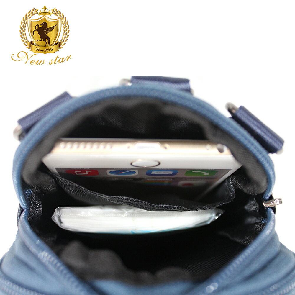 腰包 輕便素面迷彩雙層掛包側背包手機包包 NEW STAR BW33 6