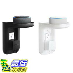 [7美國直購] ECHOGEAR EGOS1 插座式壁掛架 Outlet Shelf 適用 Amazon Echo Dot (3rd Gen & Kids edition) Echo Plus