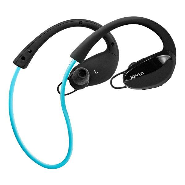 KINYO耐嘉BTE-3665無線藍芽降噪運動耳機藍牙耳機藍芽耳機藍牙耳機麥克風耳麥無線耳機無線耳麥【迪特軍】