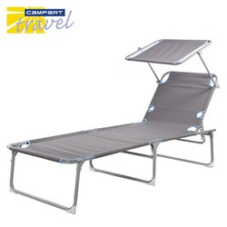 Campart Travel 荷蘭墾旅 五段式遮陽躺椅 BE-0626