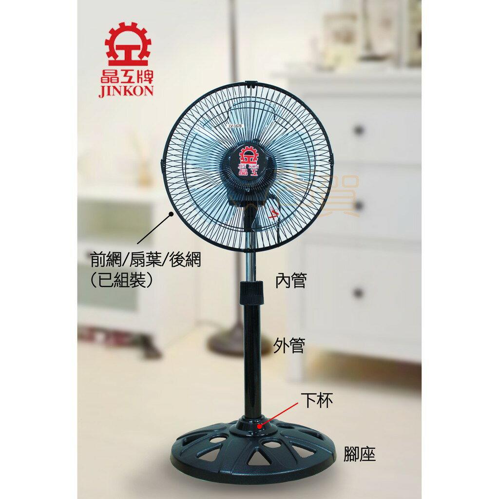 [吉賀]台灣製晶工牌 12吋 360度旋轉風扇 LC-1234 循環扇 電風扇 涼風扇 360度電扇 旋轉風扇 台灣製