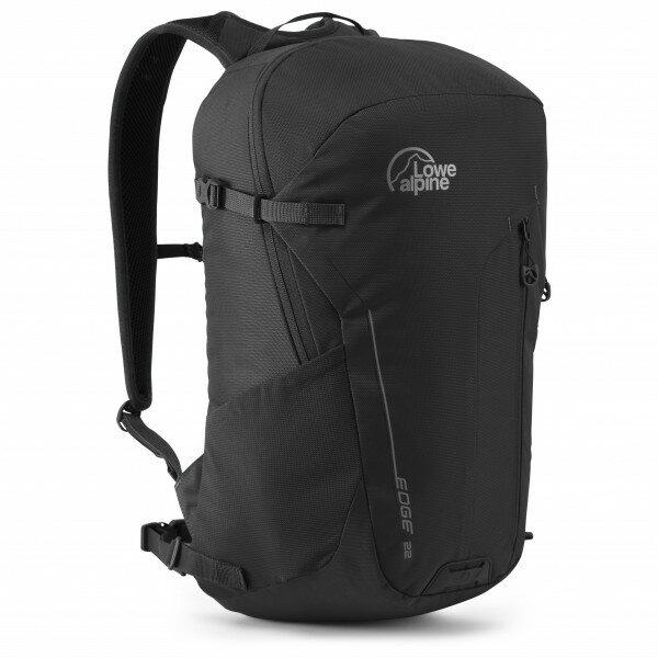 【【蘋果戶外】】Lowe alpine FDP90BL 英國 Edge 22 黑 休閒背包【22L】登山旅行旅遊自助上班上學後背包 休閒背包