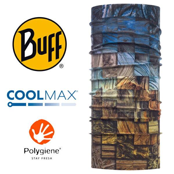 【Buff西班牙】魔術頭巾系列COOLMAX抗UV頭巾-木紋聲色/BF117010
