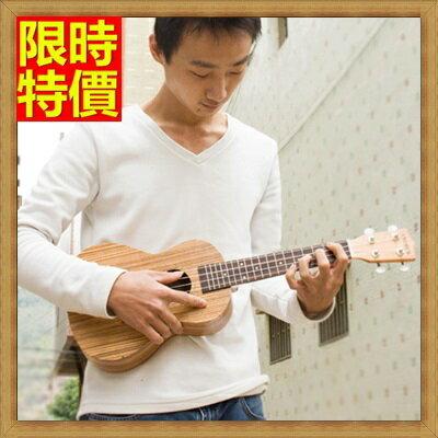 ★烏克麗麗ukulele-23吋斑馬木合板夏威夷吉他四弦琴弦樂器3款69x23【獨家進口】【米蘭精品】