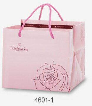 【零售量】手提派袋6吋.粉紅/感官花園/50個