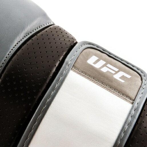 UFC-PRO 格鬥/泰拳/搏擊訓練手套-銀/黑-12oz