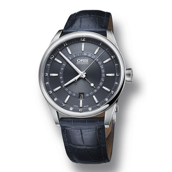 ORIS 豪利時0176176914085-SetLS 限量指針式日曆星期械腕錶/藍面42mm