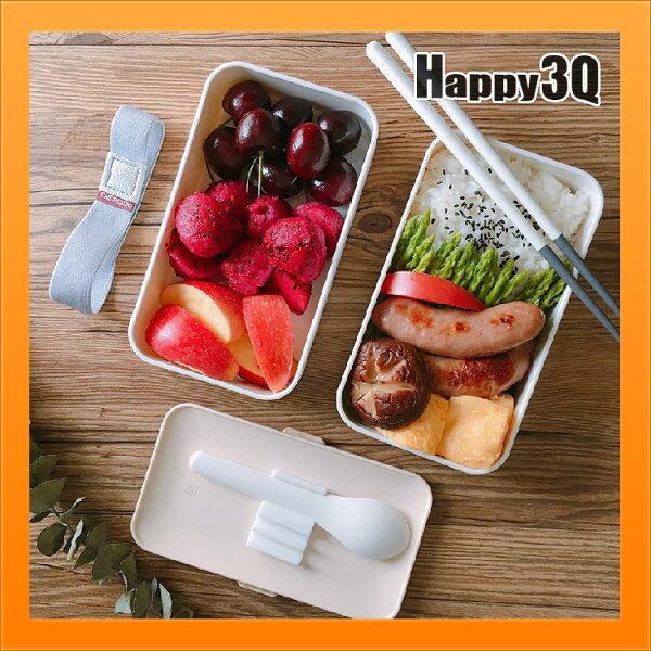 雙層大容量便當盒進口PBT材質日式可微波加熱餐盒可冷凍便攜學生飯盒【AAA3775】