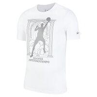 【CT4015-100】NIKE 短袖 T恤 NBA公鹿隊 字母哥 BUCKS 34 MVP 白色-鞋殿-潮流男裝