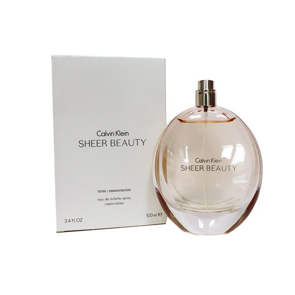 CALVIN KLEIN CK Sheer Beauty 純淨雅緻女性淡香水 EDT 100ML (tester)  ☆真愛香水★ 另有ONE/BE
