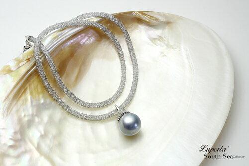 大東山珠寶 燦爛之星 大溪地真多麻銀海水珍珠項鍊 極致閃耀 4