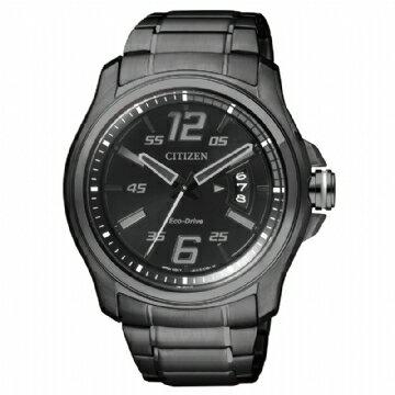 CITIZEN 科技時尚光動能鋼帶錶 AW1354-58E