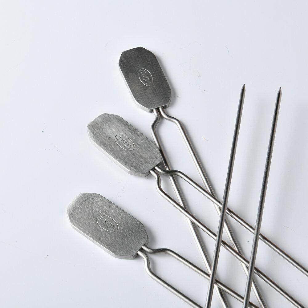 【德國Rosle】不鏽鋼烤肉叉 烤肉串叉 4入 5