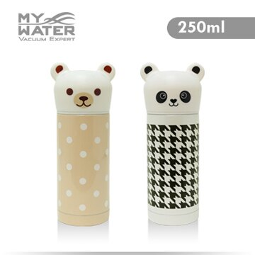 MY WATER Q小熊Q貓熊保溫杯250ml 2色可選