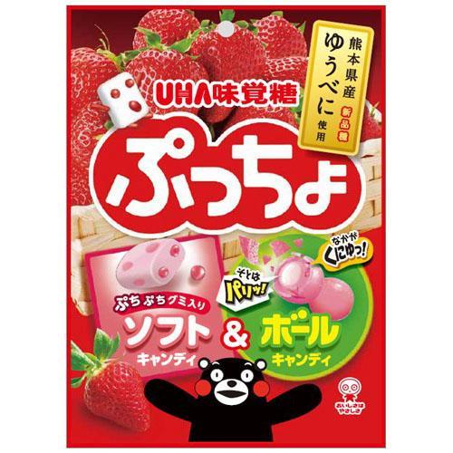 【百倉日本舖】日本製 味覺糖 熊本熊草莓軟糖