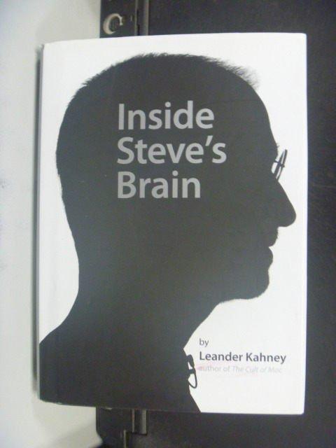 【書寶二手書T2/原文小說_GOM】Inside Steve's Brain_Kahney