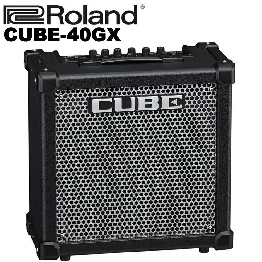 【非凡樂器】Roland CUBE-40GX(Cube 40GX)電吉他音箱/內建破音/可連接iphone/原廠公司貨